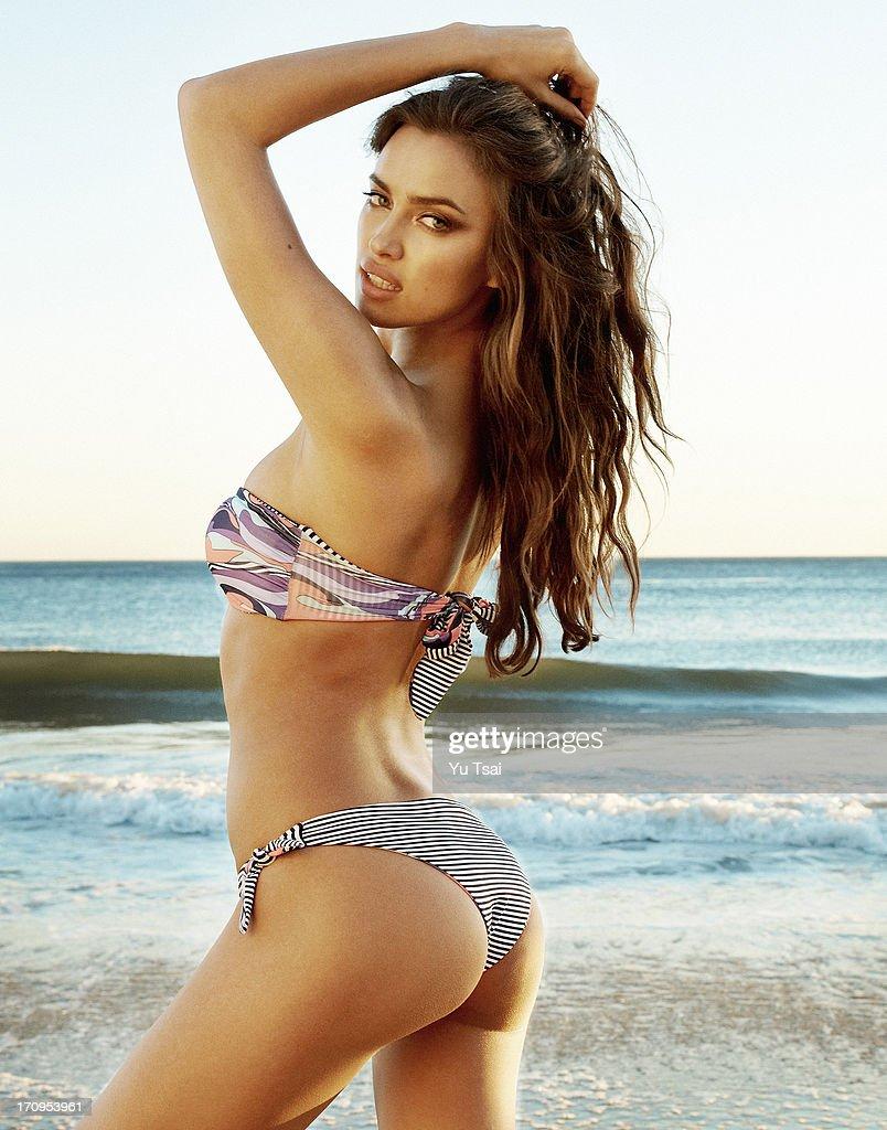 Irina Shayk, Beach Bunny Lookbook, February 1, 2013