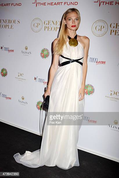 Model Iryna Saldo attendsThe Heart Fund The 68th Annual Cannes Film Festival at Carlton Hotel on May 18 2015 in Cannes France
