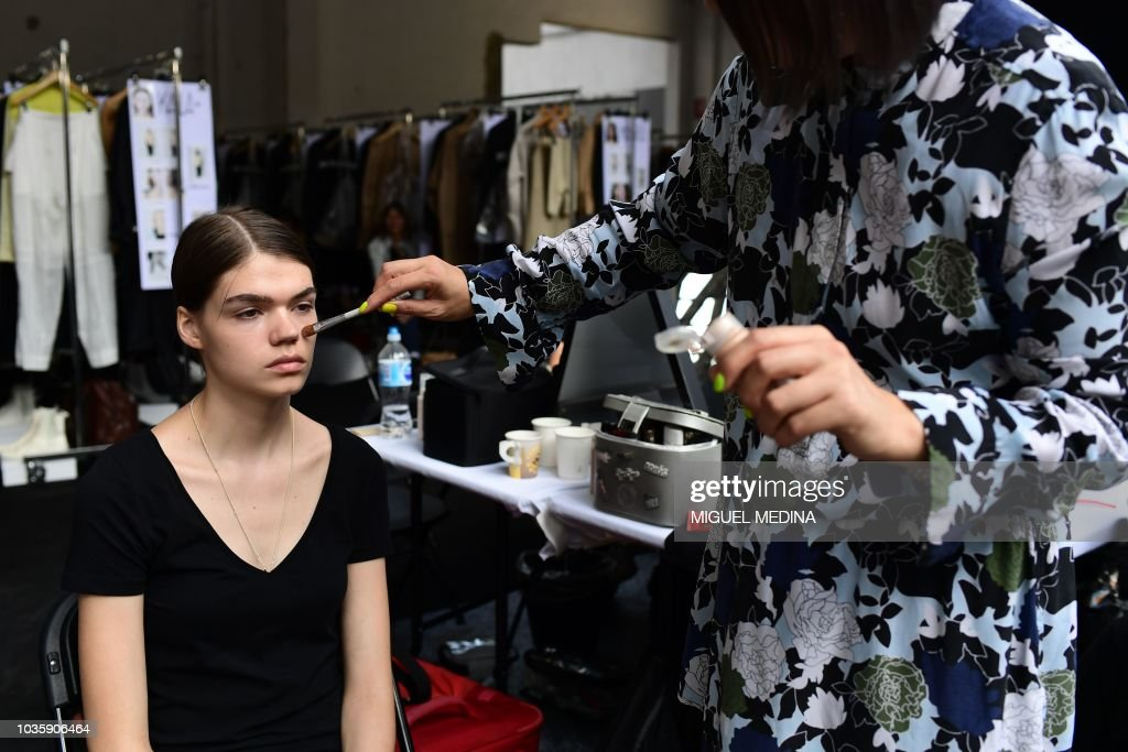 Jil Sander - Backstage - Milan Fashion Week Spring/Summer 2019