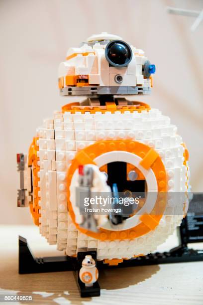 BB8 model is displayed as Hamley's announce it's top ten toys for Christmas at Hamleys on October 12 2017 in London England