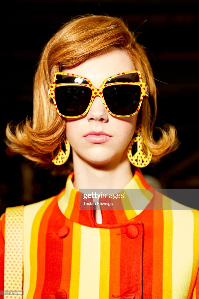 Moschino delivers major 60's pop vibes in Milan