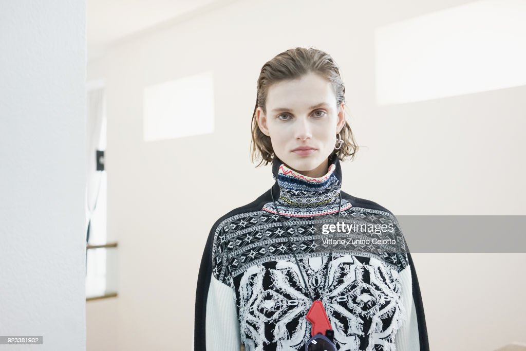 Sportmax - Backstage - Milan Fashion Week Fall/Winter 2018/19