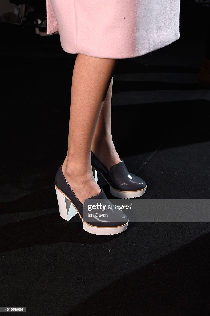 Use Unused Backstage - Mercedes-Benz Fashion Week Berlin Autumn/Winter 2015/16 : News Photo