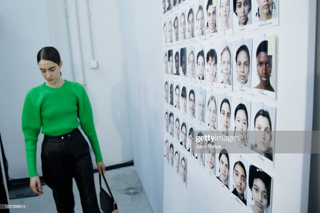 Jil Sander  - Backstage - Milan Fashion Week Fall/Winter 2020-2021 : ニュース写真
