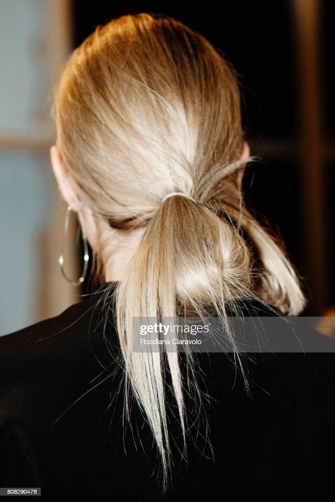 Ioana Ciolacu Backstage - Mercedes-Benz Fashion Week Berlin Spring/Summer 2018 : News Photo