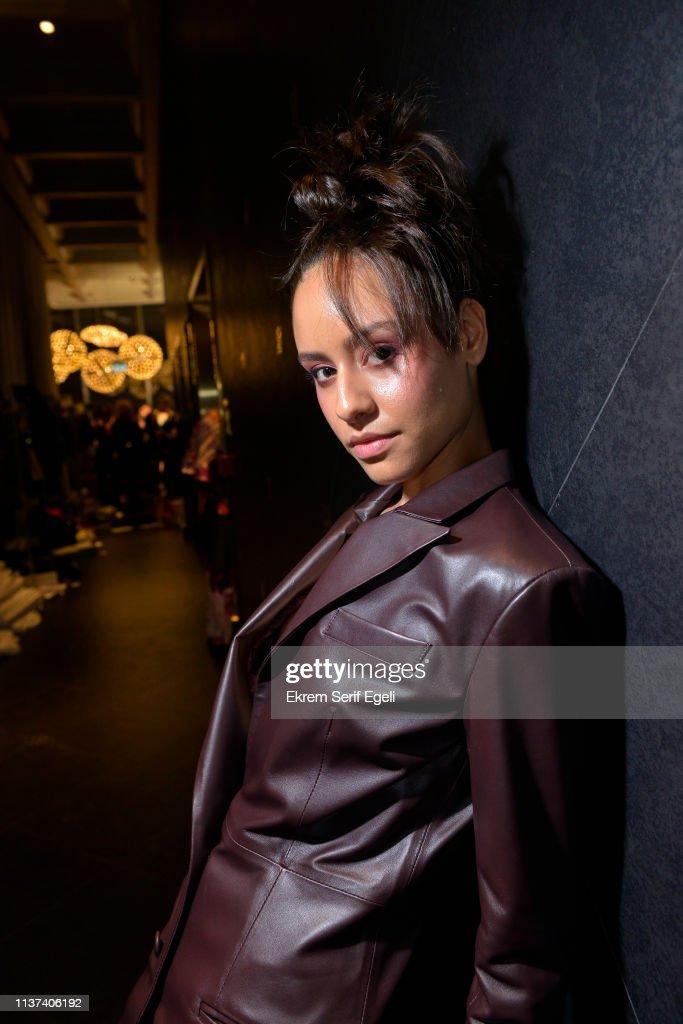 Ezra Tuba - Backstage - Mercedes-Benz Fashion Week Istanbul - March 2019 : News Photo