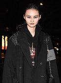 new york ny model is seen