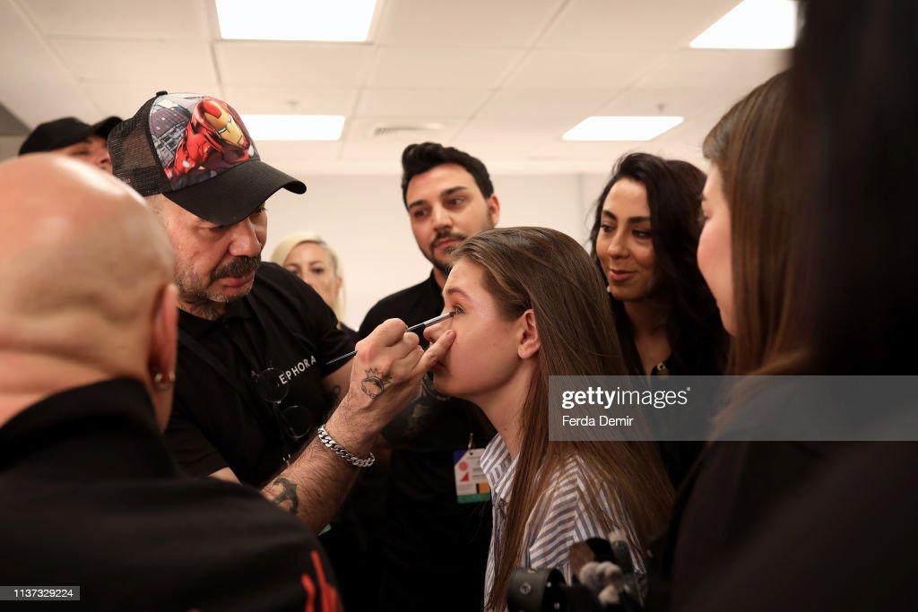 TUR: Sebnem Gunay - Backstage  - Mercedes-Benz Fashion Week Istanbul - March 2019