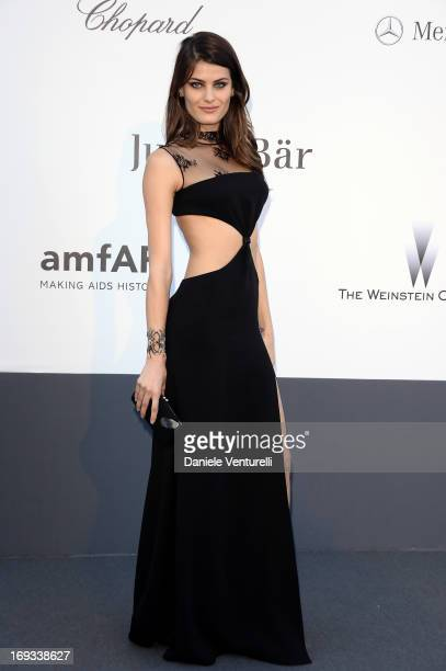 Model Isabeli Fontana attends amfAR's 20th Annual Cinema Against AIDS during The 66th Annual Cannes Film Festival at Hotel du Cap-Eden-Roc on May 23,...