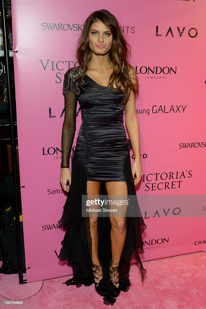 Model Isabeli Fontana attends the after party for the 2012 Victoria's Secret Fashion Show at Lavo NYC on November 7, 2012 in New York City.
