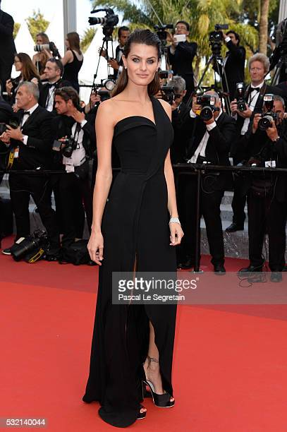 Model Isabeli Fontana attends 'The Unknown Girl ' Premiere during the 69th annual Cannes Film Festival at the Palais des Festivals on May 18 2016 in...