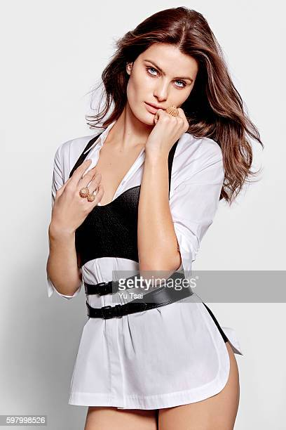 Model Isabeli Fontana is photographed for Harper's Bazaar Singapore on June 7 2016 in New York City PUBLISHED IMAGE