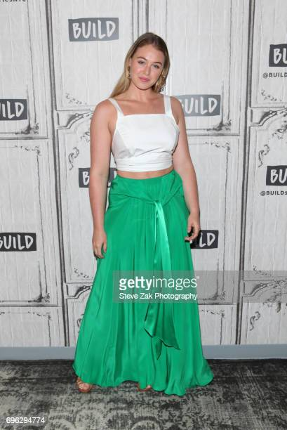 Model Iskra Lawrence attends Build Series to discuss her involvement with NEDA at Build Studio on June 15 2017 in New York City