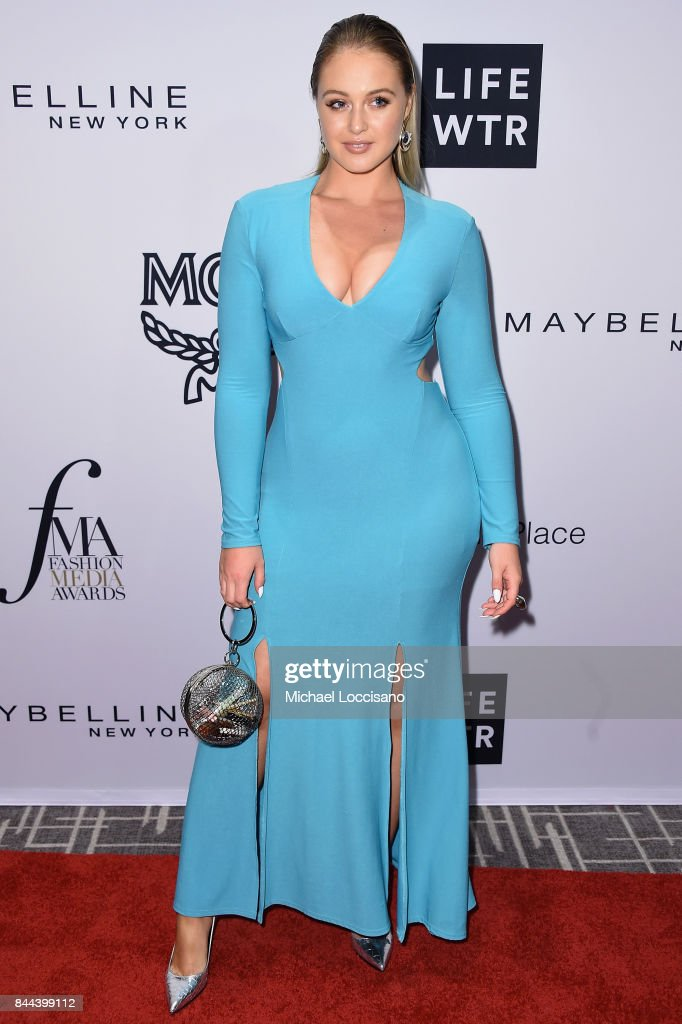 Model Iskra Lawrence attends the Daily Front Row's Fashion Media Awards at Four Seasons Hotel New York Downtown on September 8, 2017 in New York City.