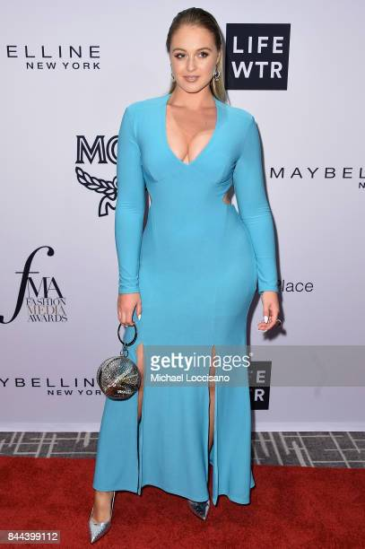 Model Iskra Lawrence attends the Daily Front Row's Fashion Media Awards at Four Seasons Hotel New York Downtown on September 8 2017 in New York City