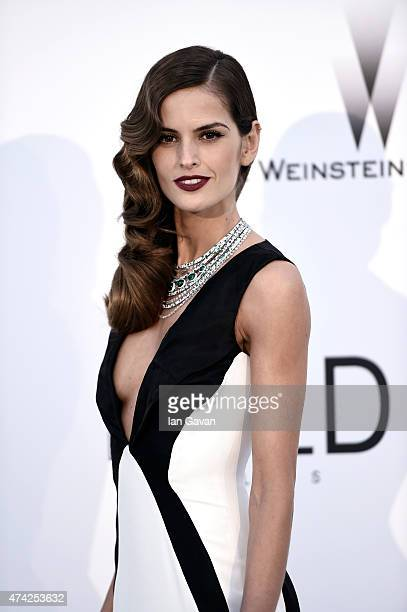 Model Izabel Goulart attends amfAR's 22nd Cinema Against AIDS Gala Presented By Bold Films And Harry Winston at Hotel du CapEdenRoc on May 21 2015 in...