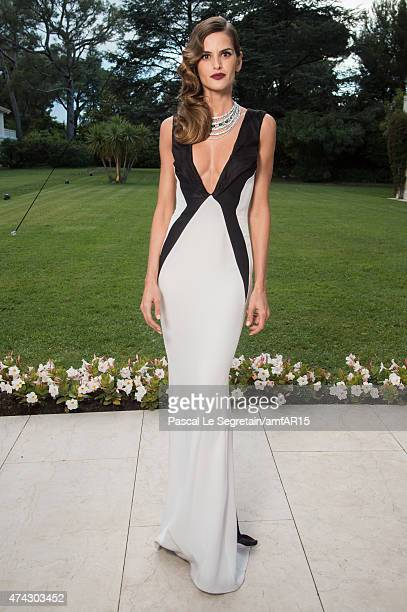 Model Izabel Goulart attends amfAR's 22nd Cinema Against AIDS Gala, Presented By Bold Films And Harry Winston at Hotel du Cap-Eden-Roc on May 21,...