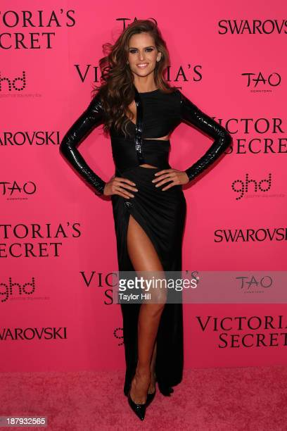 Model Izabel Goulart attends the after party for the 2013 Victoria's Secret Fashion Show at TAO Downtown on November 13 2013 in New York City