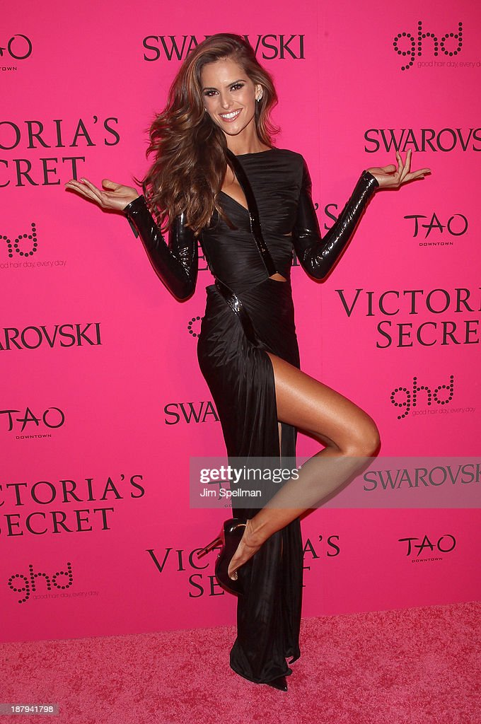 Model Izabel Goulart attends the after party for the 2013 Victoria's Secret Fashion Show at TAO Downtown on November 13, 2013 in New York City.