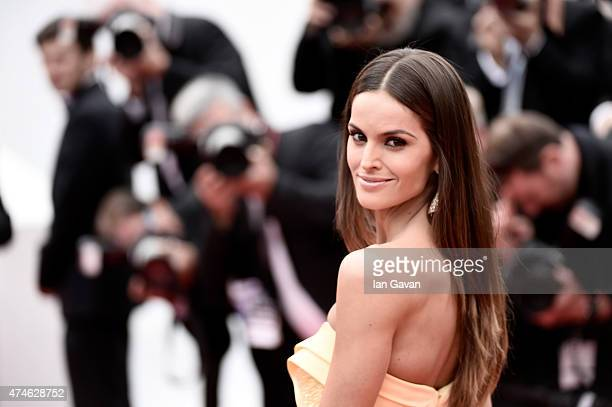 Model Izabel Goulart attends the closing ceremony and Le Glace Et Le Ciel Premiere during the 68th annual Cannes Film Festival on May 24 2015 in...