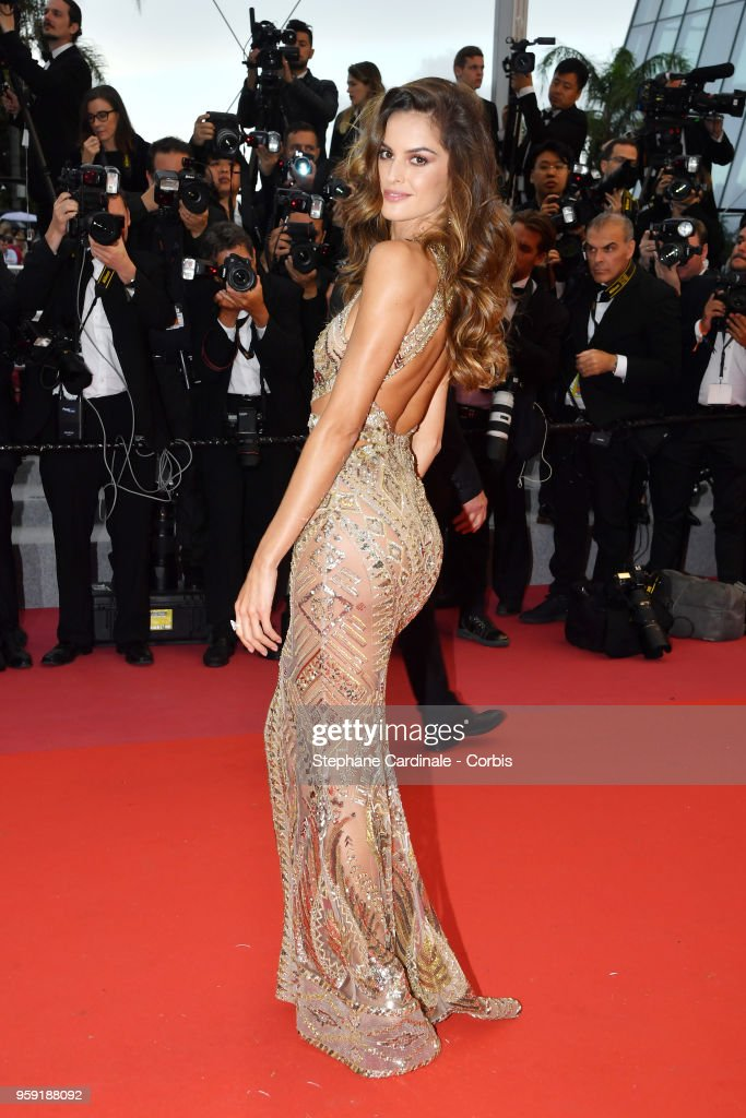 Model Izabel Goulart attends the screening of 'Burning' during the 71st annual Cannes Film Festival at Palais des Festivals on May 16, 2018 in Cannes, France.