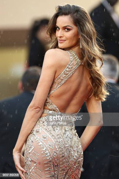 "Model Izabel Goulart attends the screening of ""Burning"" during the 71st annual Cannes Film Festival at Palais des Festivals on May 16, 2018 in..."
