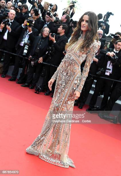 Model Izabel Goulart attends the 'The Beguiled' screening during the 70th annual Cannes Film Festival at Palais des Festivals on May 24 2017 in...