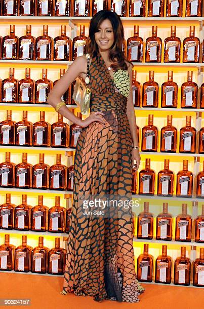 Model Izumi Mori attends 'Be Cointreauversial Show' In Tokyo at the Ritz Carlton on September 3 2009 in Tokyo Japan