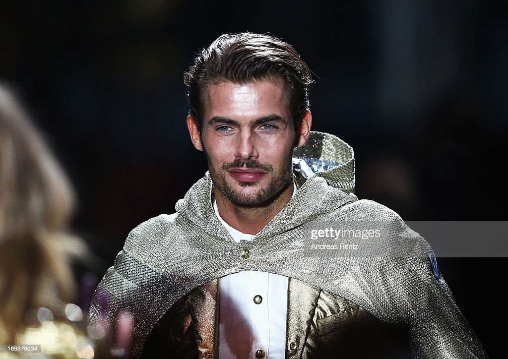 Model Jacey Elthalion walks the runway as part of amfAR's 20th Annual Cinema Against AIDS during The 66th Annual Cannes Film Festival at Hotel du Cap-Eden-Roc on May 23, 2013 in Cap d'Antibes, France.
