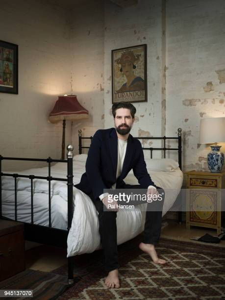 Model Jack Guinness is photographed for the Observer on December 20 2017 in London England