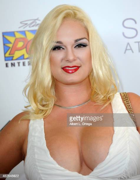 Model Jackie Delgado at Infolistcom's PreComicCon Bash held at Skybar on July 17 2014 in West Hollywood California