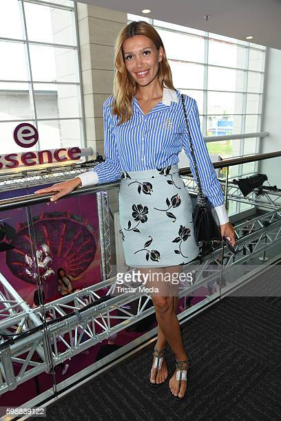 Model Jackie Hide attends the 'Glossycon' on September 3 2016 in Berlin Germany