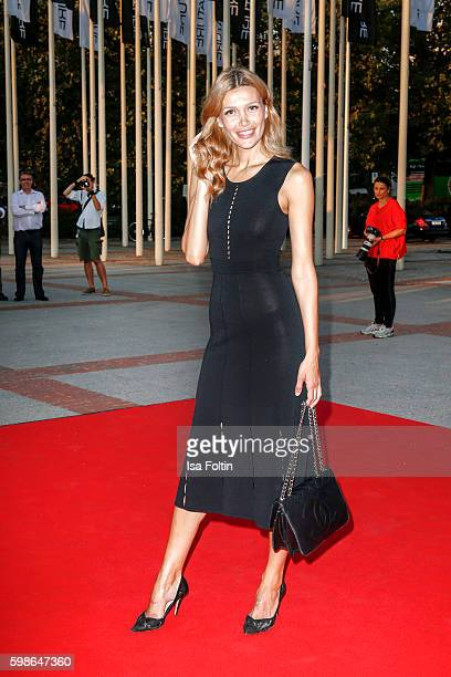 Model Jackie Hide attends the IFA 2016 opening gala on September 1 2016 in Berlin Germany
