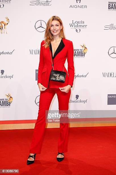 Model Jackie Hide attends the Tribute To Bambi at Station on October 6 2016 in Berlin Germany