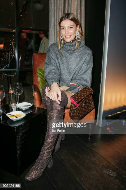 Model Jackie Hide during the Bunte New Faces Night at Grace Hotel Zoo on January 15 2018 in Berlin Germany
