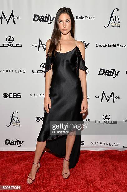 Model Jacquelyn Jablonski attends the The Daily Front Row's 4th Annual Fashion Media Awards at Park Hyatt New York on September 8 2016 in New York...