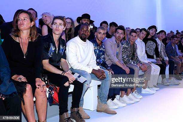 Model Jade Jagger Actor Will Peltz Singers Kanye West Zayn Malik Joe Jonas Actor Jeremie Laheurte Actor and Singer from Thailand Mario Maurer...