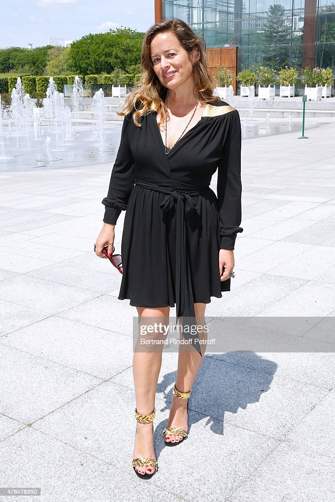 Model Jade Jagger attends the Louis Vuitton Menswear Spring/Summer 2016 show as part of Paris Fashion Week on June 25, 2015 in Paris, France.