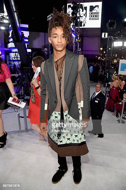 Model Jaden Smith attends the 2016 MTV Video Music Awards at Madison Square Garden on August 28, 2016 in New York City.