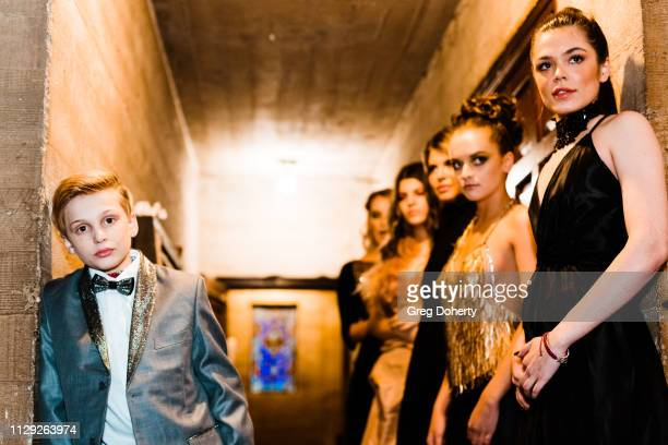 Model Jake Benbow and Katya Lava attends Sanctuary Fashion Week on March 7 2019 in Los Angeles California