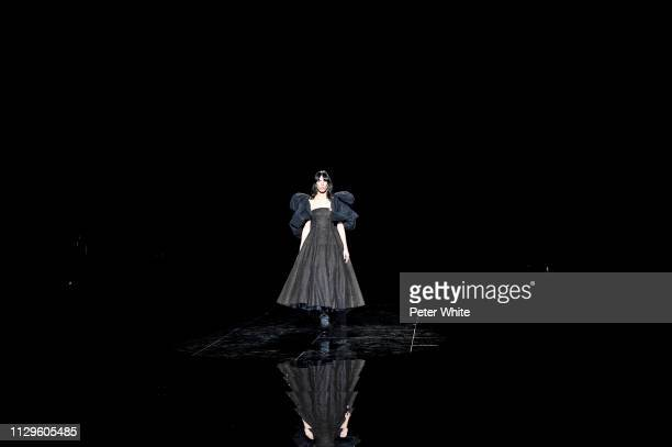 Model Jamie Bochert walks the runway at the Marc Jacobs fashion show during New York Fashion Week on February 13 2019 in New York City