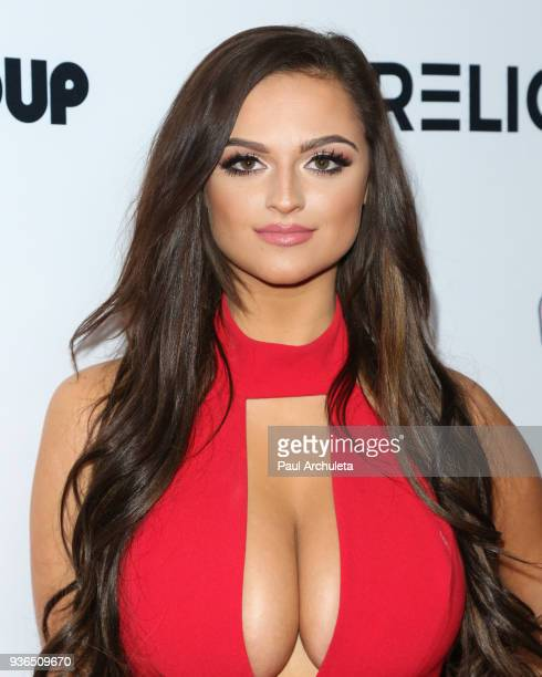 Model Jamie Leigh Thornton attends the 4th annual Babes In Toyland Pet Gala benefiting Operation Blankets Of Love at Avalon on March 21 2018 in...