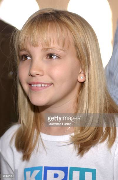 Model Jamie Lynn Spears attends the Kids R Us Fall 2002 Fashion Show April 11 2002 in New York City