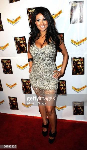"Model Jamileh Hanna arrives Premiere Of ""6 Degrees Of Hell ..."