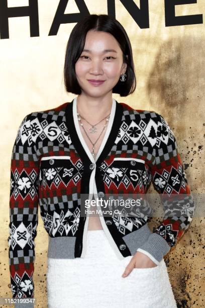 Model Jang YoonJu attends the CHANEL ParisNew York 2018'19 Metiers d'Art show on May 28 2019 in Seoul South Korea