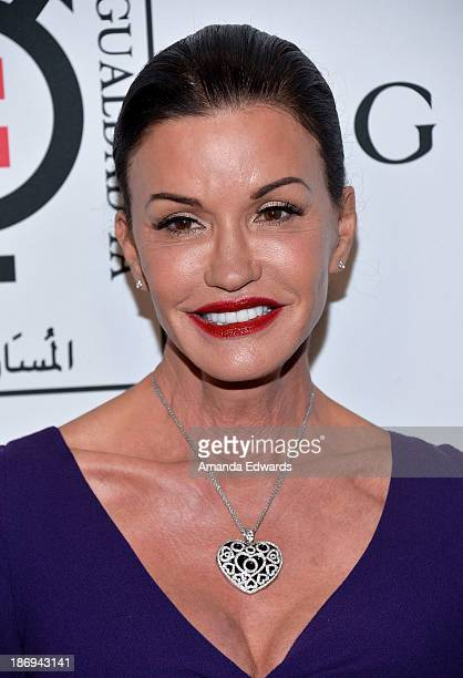 Model Janice Dickinson arrives at the Equality Now Make Equality Reality event at Montage Beverly Hills on November 4 2013 in Beverly Hills California
