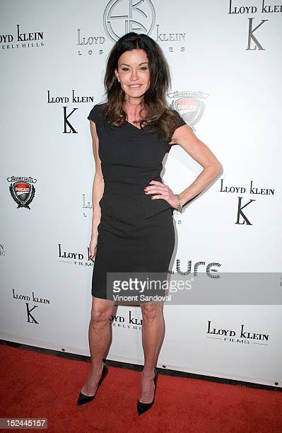 Model Janice Dickinson attends the Lloyd Klein Spring 2013 Collection Preview at Lure on September 20 2012 in Hollywood California