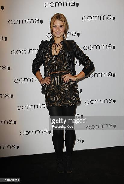 Model Janina Delia Schmidt Beim Comma Store ReOpening In Hamburg