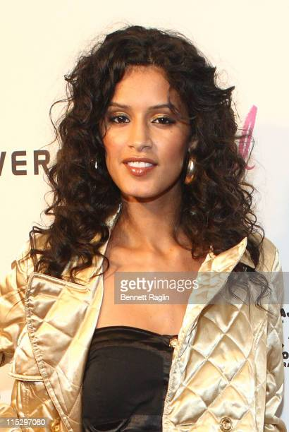 Model Jaslene Gonzalez attends CosmoGirl's 'School of Style' at the Bowery Ballroom on September 26 2008 in New York City