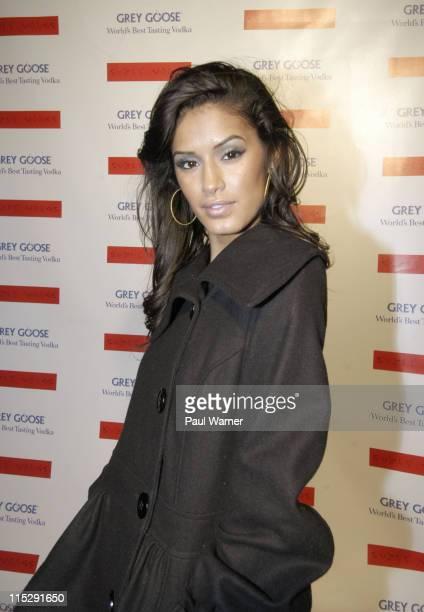 Model Jaslene Gonzalez attends Suzie Wong Saki Lounge Grand Opening on January 31 2008 in New York